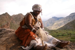 Ntomzana, the traditional healer